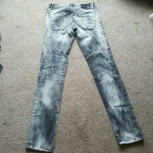 Women's Diesel bleach denim skinny jeans Sz 25